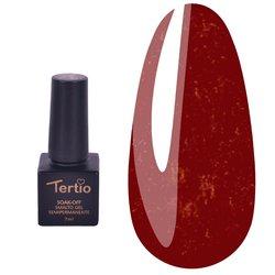 Гель-лак Tertio №25 - темно-малиновый с микроблеском, 7 мл