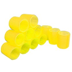 Бигуди липучки YRE 48 мм желтый 12 шт