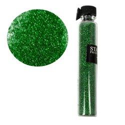 Декор песок в колбе STARLET  зеленый