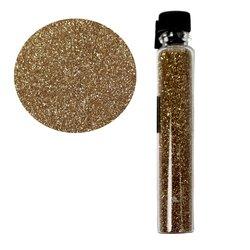 Декор песок в колбе STARLET белое золото