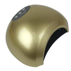 UV/LED лампа - шарикSun 48 Вт, золото