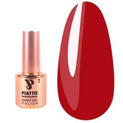 Гель-лак Piatto №019 - красный, 9 мл
