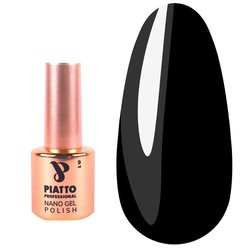 Гель-лак Piatto №031 - темный баклажановый с микроблеском, 9 мл