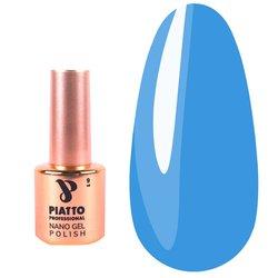 Гель-лак Piatto №096 - голубой, 9 мл
