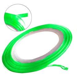 Лента для ногтей - зеленый матовый