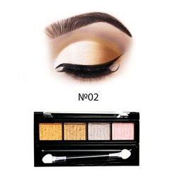 Набор теней МАС Cream Eyeshadow 4 цвета №02