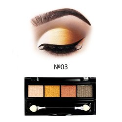 Набор теней МАС Cream Eyeshadow 4 цвета №03