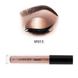 Кремовые тени для век Inglot Aquastic Cream Eyeshadow №15, 4,8 г
