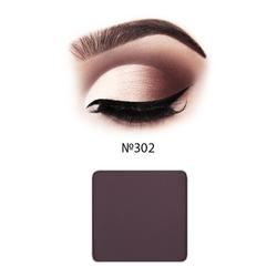 Матовые тени для век Inglot Freedom System Eye Shadow Matte NF №302, 2,3 г