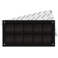 Палитра для косметики квадратная матовая Inglot Freedom System Palette Square - 10 ячеек
