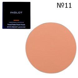Прессованная пудра круглая Inglot Freedom System Pressed Powder Round №11, 9 г