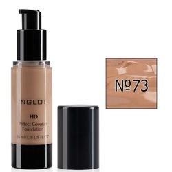 Тональный крем Inglot HD Perfect Coverup Foundation №73, 35 мл