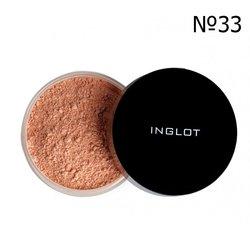 Матирующая рассыпчатая пудра Inglot Mattifying Loose Powder 3S №33, 2,5 г