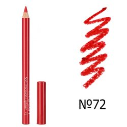 Карандаш для губ Inglot Soft Precision Lip Liner №72, 1,13 г