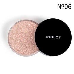 Пудра рассыпчатая хайлайтер Inglot Sparkling Dust Feb №06, 2,5 г