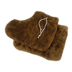 Носки махра для парафинотерапии Украина 1 пара (коричневый)