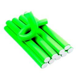 Папильотки YRE зеленые 22 мм*240 мм 10 шт