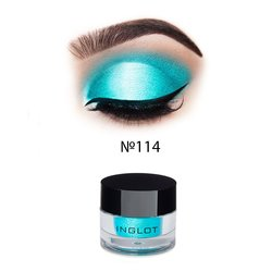 Рассыпчастые тени для век Inglot AMC Pure Pigment Eye Shadow №114, 2 г