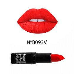 Матовая помада для губ велюр Atelier Velour Lipstick B093V - алый, 4,5 г