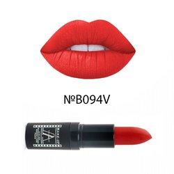 Матовая помада для губ велюр Atelier Velour Lipstick B094V - красный, 4,5 г