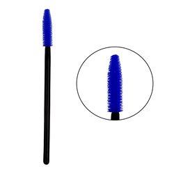 Щеточка для ресниц и бровей Vivienne силиконовая - синяя