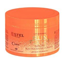 Маска Estel Curex Sunflower Восстановление и Защита с UV-фильтром, 500 мл