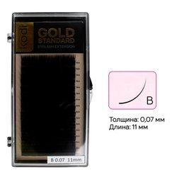 Ресницы Kodi В 0,07 (16 рядов: 11 мм) Gold Standart (20065645)