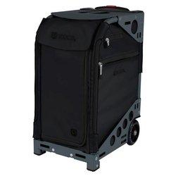 Сумка - чемодан для мастера ZUCA Pro Artist Oxford Slate тканевая серо-черная, 49,5х25,5 см
