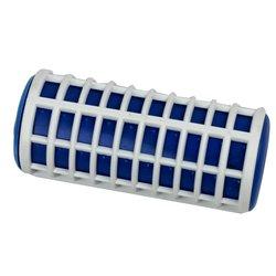 Термобигуди для волос Reed 28 мм - бело- синий, 10 шт (7253)