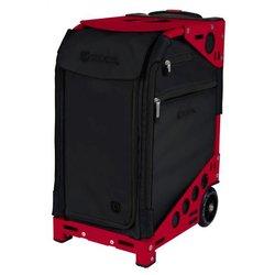 Сумка - чемодан для мастера ZUCA Pro Artist Oxford/Candy Red тканевая красно-черная, 49,5х25,5 с