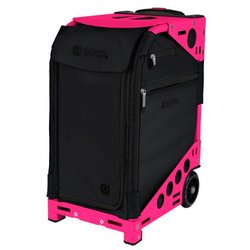 Сумка - чемодан для мастера ZUCA Pro Artist Oxford/Neon Pink тканевая розово-черная, 49,5х25,5 см