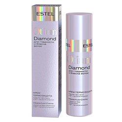 Крем-термозащита Estel Otium Diamond для гладкости и блеска волос, 100 мл