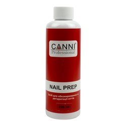 Canni Nail Prep - жидкость для обезжиривания и дегидратации, 220 мл