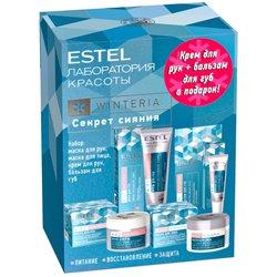 Набор Секрет сияния Estel Beauty Hair Lab Winteria, (маски для рук и лица, крем, бальзам для губ)