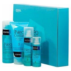 Набор для процедуры ламинирования волос Estel iNeo-Crystal с 3d гелем для сильно поврежденных волос
