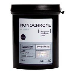 Сахарная паста Gloria Monochromе черная ультрамягкая, 800 мл