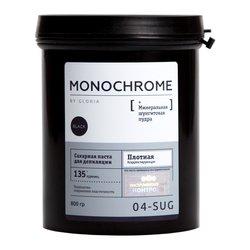 Сахарная паста Gloria Monochromе черная плотная, 800 мл