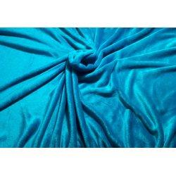 Чехол на кушетку махра UK, голубой, 100х220 см