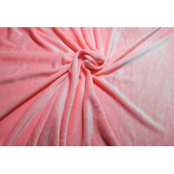 Чехол на кушетку махра UK, розовый, 100х220 см