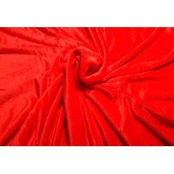 Чехол на кушетку махра UK, красный, 100х220 см