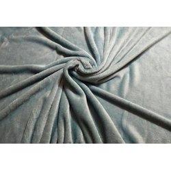 Чехол на кушетку махра UK, дымчато-серый, 100х220 см