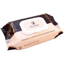 Влажные салфетки Gloria для интимной гигиены, 63 шт