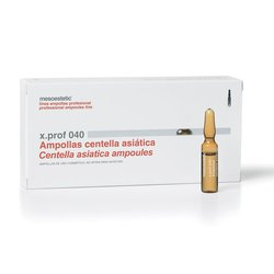 Ампула для мезотерапии x.prof 040 - Экстракт Центеллы азиатской Mesoestetic, 2 мл