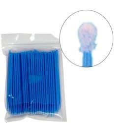 Микробраш I-Beauty - синий эконом, 100 шт