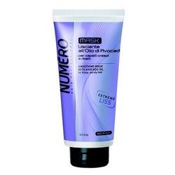 Маска Brelil Numero Liss для разглаживания волос с маслом авокадо, 300 мл