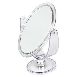 Косметическое зеркало - двустороннее, прозрачный 18,5 х 15,5 см (2018)