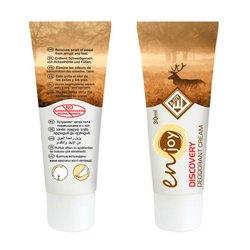 Эко-крем дезодорант для тела Discovery unisex в тюбике, 30 мл
