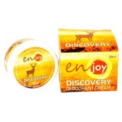 Эко-крем дезодорант для тела Discovery unisex в баночке, 30 мл
