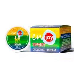 Эко-крем дезодорант для тела Sport unisex в баночке, 30 мл