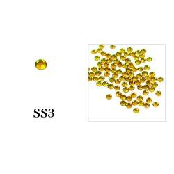 Стразы Tufi Profi - Citrin SS3, 100 шт (P24)